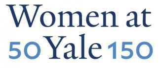 50 Women at Yale 150 Logo